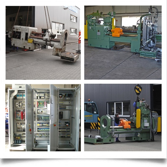 Generalüberholte Wickelbank mit Umrüstung auf CNC Steuerung